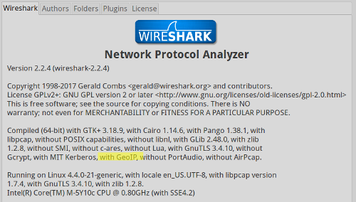 About Output From Wireshark